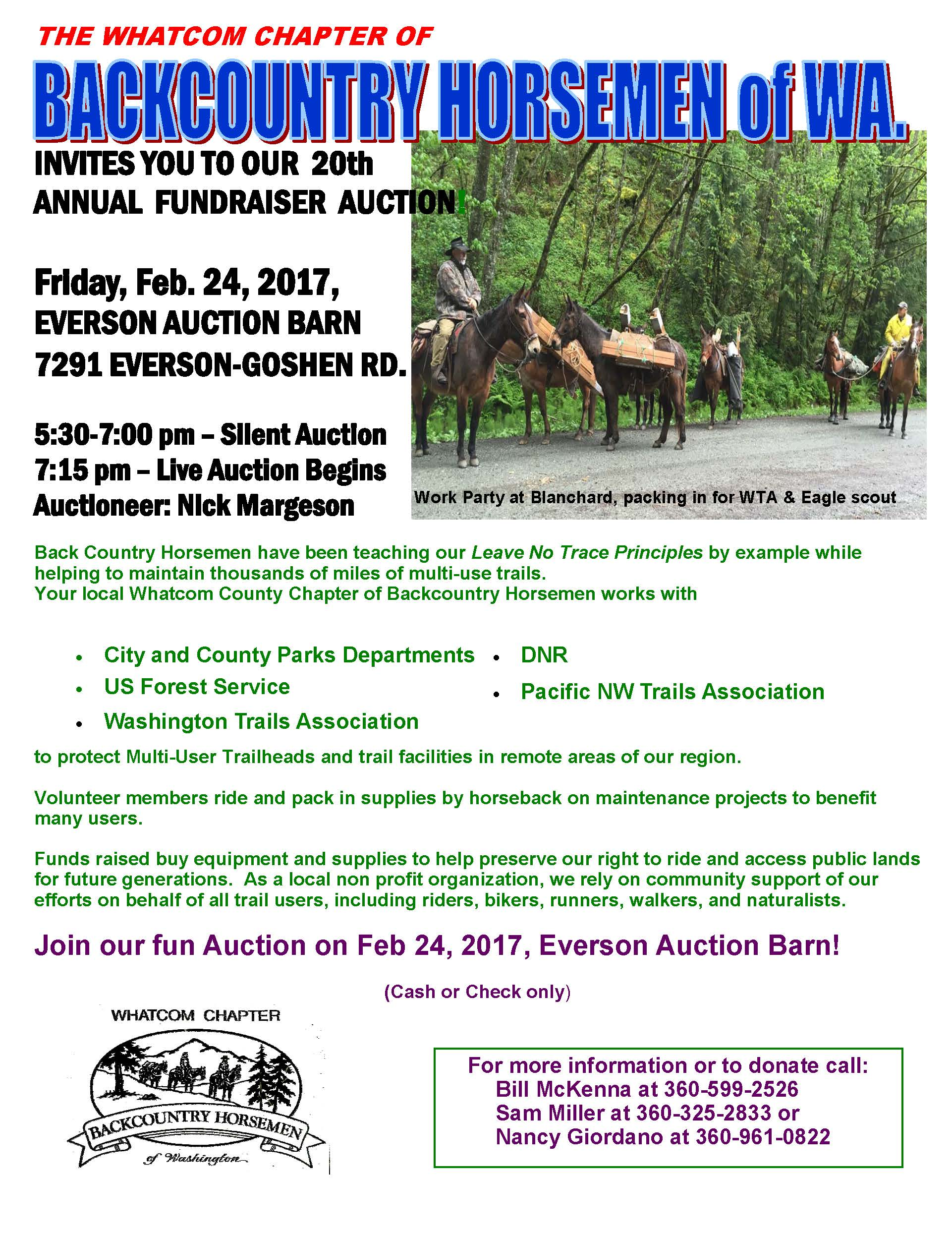 Annual BCHW Auction!!! – Whatcom Chapter Backcountry